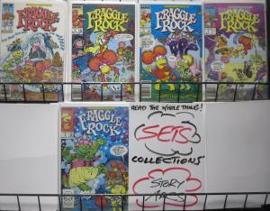 FRAGGLE ROCK (Marvel/Star, 1985) #1-5 VF-NM Jim Henson Adaptation
