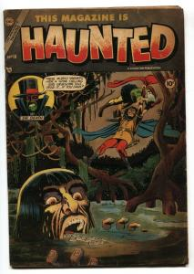 This Magazine Is Haunted #18 1954-Fawcett-Ditko horror-pre-code