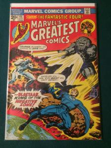 Marvel's Greatest Comics #45 starring The Fantastic Four