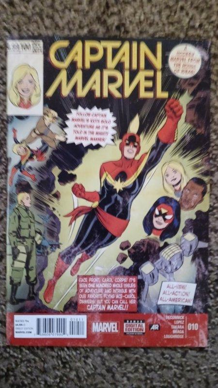 Captain Marvel #10 (2015) VF-NM