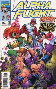 Alpha Flight (2nd Series) #15 VF/NM; Marvel | save on shipping - details inside