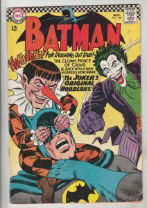 Batman #186 (Nov-66) VG/FN Mid-Grade Batman