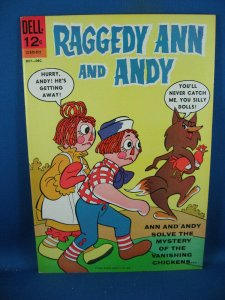 RAGGEDY ANN AND ANDY 3 VF NM 1965 DELL