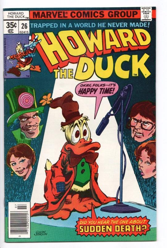 Howard the Duck #26 - App of Circus of Crime (Marvel, 1978) - NM-