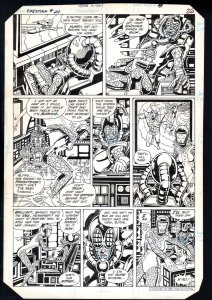 Firestorm #24 Page 26 Original Comic Book Art - Rafael Kayanan