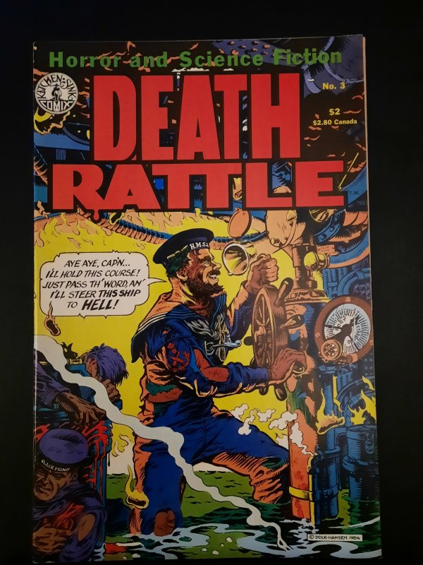 Death Rattle #3 (1986)