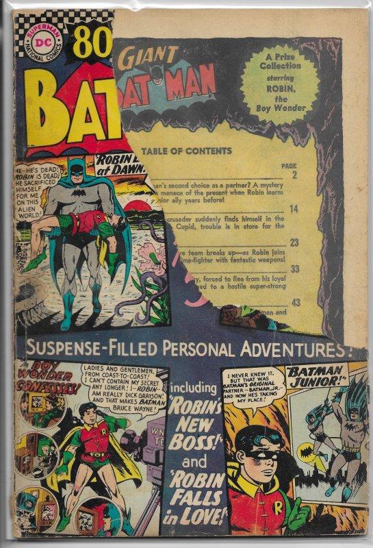 Batman   vol. 1   #185 FR (80 Page Giant G-27)
