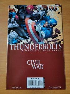Thunderbolts #105 ~ NEAR MINT NM ~ 2006 Marvel Comics