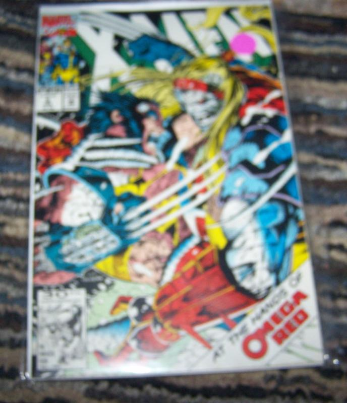X Men  # 5 feb 1992 marvel  wolverine vs omega red gambit rogue