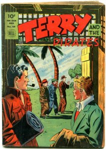 Terry and the Pirates - Four Color Comics #44 1944- Dell Golden Age VG