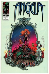 Angela #3 (Image, 1995) VF/NM