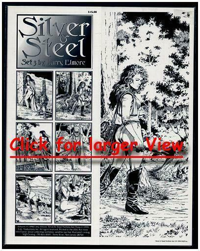 SEXY SILVER & STEEL 3 LARRY ELMORE classic PORTFOLIO
