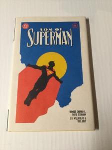Son Of Superman Hardcover Hc Nm Near Mint Tpb