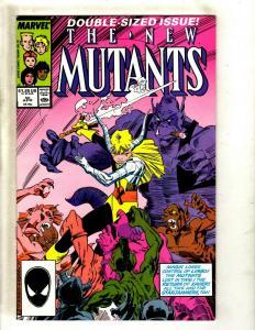 Lot of 12 The New Mutants Comics #50 52 53 54 55 57 58 59 60 61 62 63 SM20