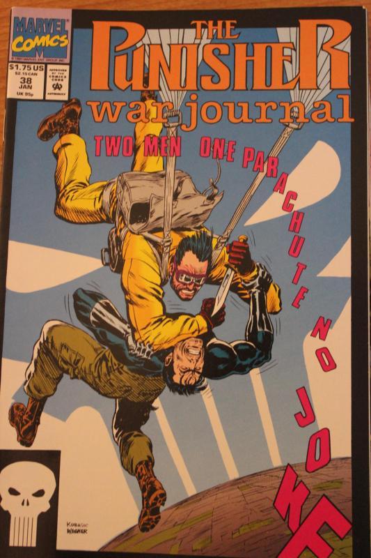 The Punisher War Journal 38 NM