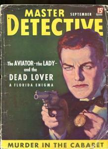 MASTER DETECTIVE-09/1937-LAW-MASTER-CABARET-RIDDLE-BANDITS-CLUE G