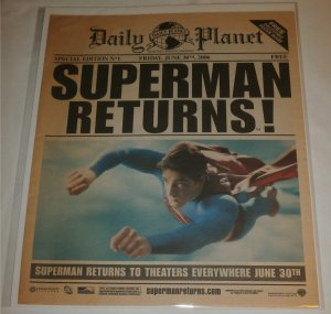 Daily Planet Special Edition #1 2006.06.30 Superman Returns!