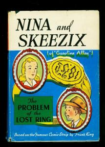 Nina and Skeezix: The Problem of the Lost Ring Hardcover w/ dust jacket G/VG