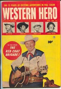 Western Hero #101 1951-Fawcett-Tom Mix-Gabby Hayes-Monte Hale-Tex Ritter-VF