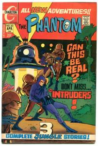THE PHANTOM #49 1972-CHARLTON COMICS-FLYING SAUCER CVR FN