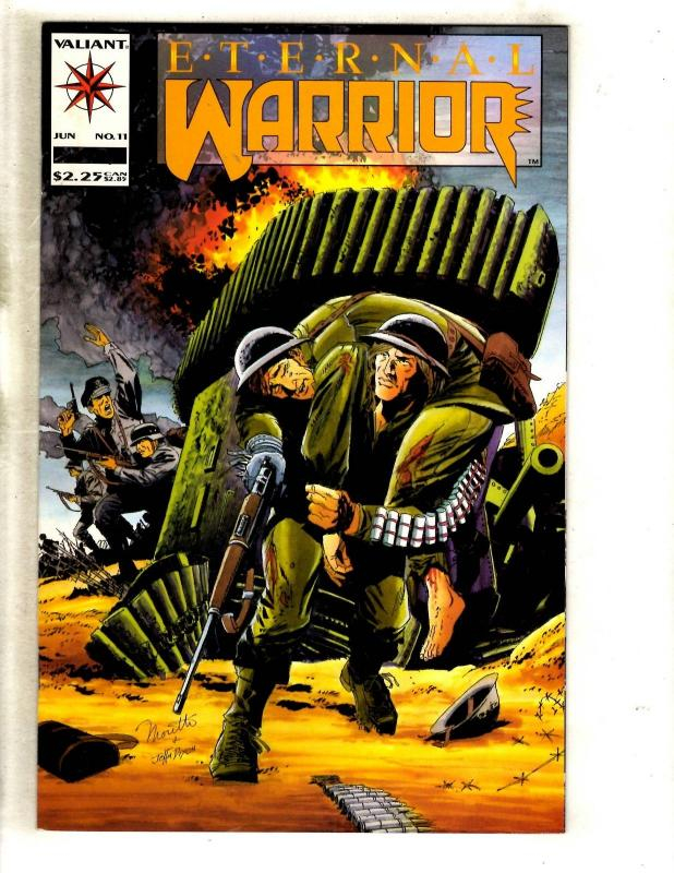 Lot Of 49 Eternal Warrior # 11 Valiant Comic Books Magnus Rai Bloodshot MR4