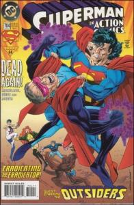 DC ACTION COMICS (1938 Series) #704 NM-