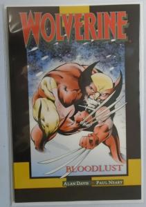 Wolverine Bloodlust #1, 8.0/VF (1990)