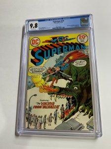 Superman 270 Cgc 9.8 Dc Comics Bronze Age