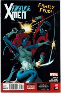 Amazing X-Men #6 (2014 v2) Ed McGuinness Mystique NM