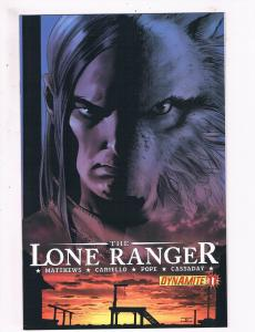 The Lone Ranger # 11 VF Dynamite Entertainment Comics Awesome Issue Western! SW5