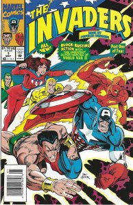 The Invaders #1 (5-93) - Captain America, Human Torch,Sub-Mariner, Miss America