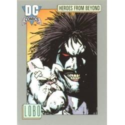1991 DC Cosmic Cards - LOBO #120