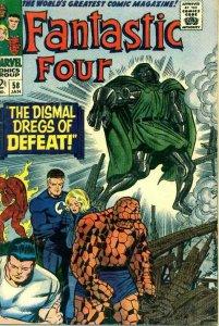 Fantastic Four (Vol. 1) #58 VG; Marvel | low grade comic - save on shipping - de