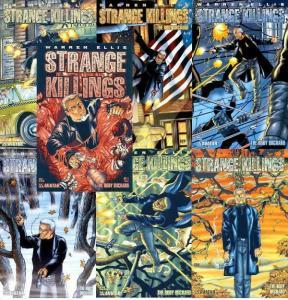 STRANGE KILLINGS BODY ORCHARD (2002 AVATAR) 1-6+  ELLIS