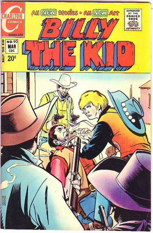 Billy the Kid #90 (Mar-72) NM- High-Grade Billy the Kid