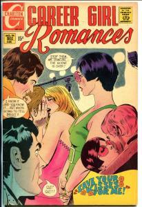 Career Girl Romances #54 1969-Charlton-Circus girl-high grade copy-glossy-VF