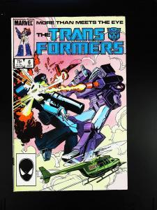 Transformers (1984 series) #6, NM (Actual scan)