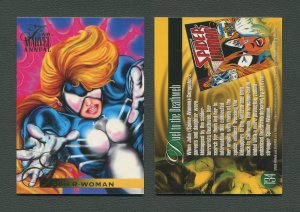 1995 Flair Marvel Annual Card #134 (Spider Woman)  MINT