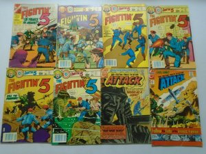 War comic lot 38 different issues avg 5.0 VG FN (Charlton)