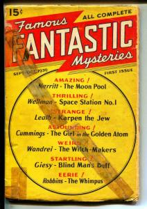 Famous Fantastic Mysteries-Pulps-9/1939-Ray Cummings-A. Merritt