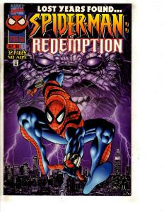 9 Spider-Man Comics Redempt. 1 2 3 4 Adventures 1 2 Years 1 Power 1 Special DB2