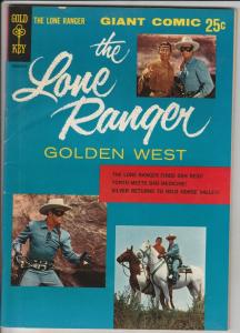 Lone Ranger, The Golden West Dell Giant #1 (Aug-55) VF/NM High-Grade The Lone...
