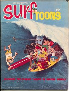 Surftoons #1 1965-Petersen Pubs-1st issue-Rick Griffin art-surf comix-VG+