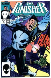 PUNISHER #4, VF/NM, Mike Baron, Klaus Janson, 1987, Blood, more Marvel in store