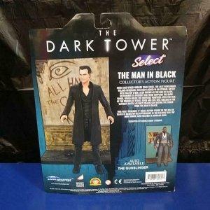 DARK TOWER Action Figures set, Gunslinger and Man in Black Stephen King MIB 1ea