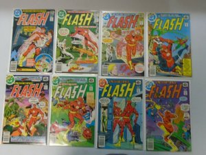 Flash comic lot 23 different 40c covers from #267-288 avg 6.0 FN (1978-80 1st Se