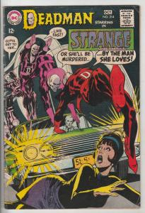 Strange Adventures #214 (Oct-68) FN+ Mid-High-Grade Deadman