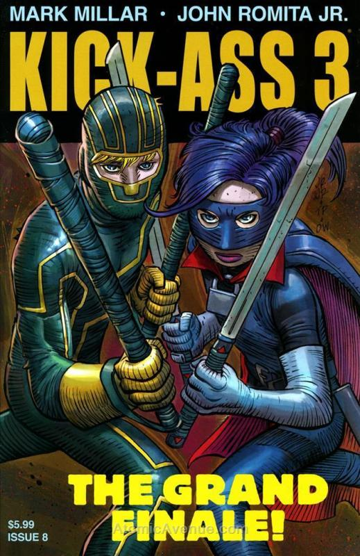 Kick-Ass 3 #8 VF/NM; Marvel | save on shipping - details inside