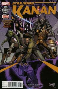 Kanan: The Last Padawan #6 VF/NM; Marvel | save on shipping - details inside