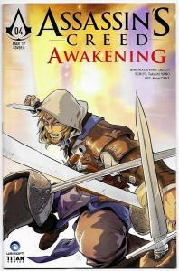 Assassin's Creed Awakening #4 Cvr B (Titan, 2017) NM